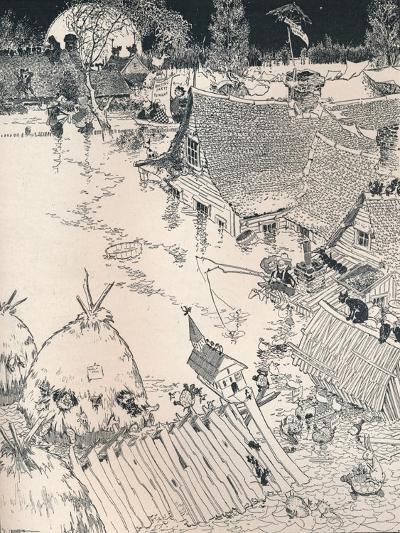 High Times on the Desplaines, C1890-Frederick Richardson-Giclee Print