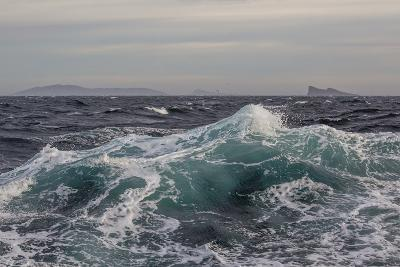 High Winds and Heavy Seas on Approach to the New Island Nature Reserve, Falkland Islands-Michael Nolan-Photographic Print
