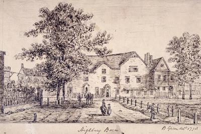 Highbury Barn, Islington, London, 1770--Giclee Print