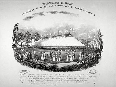 Highbury Barn, Islington, London, 1837-F Alvey-Giclee Print