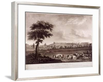 Highbury Place, Highbury, Islington, London, 1787-Robert Pollard-Framed Giclee Print