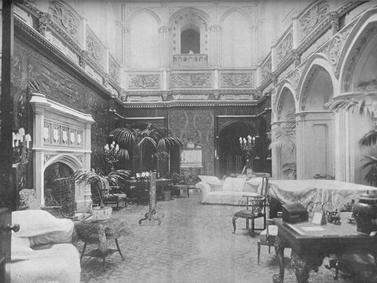 'Highclere Castle, Hampshire - The Earl of Carnarvon', 1910-Unknown-Photographic Print