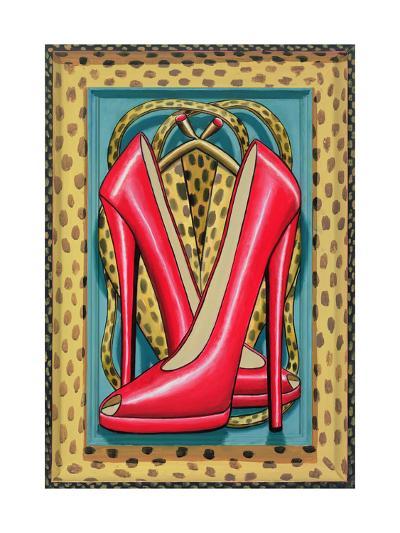 Higher Heels, 2010-PJ Crook-Giclee Print