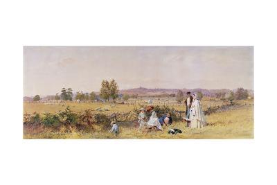 Highgate from Upper Holloway, 1859-John Beer-Giclee Print