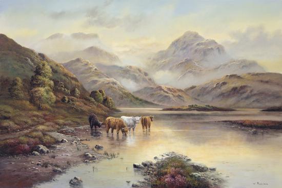 Highland Cattle II-Wendy Reeves-Giclee Print