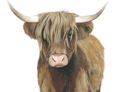 Highland Cattle II-Grace Popp-Art Print