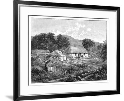 Highland Cottages in Lochaber, Scotland, 1900