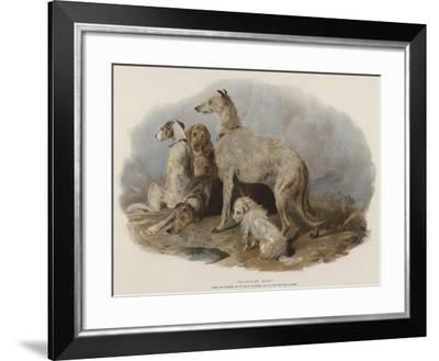 Highland Dogs-Edwin Landseer-Framed Giclee Print
