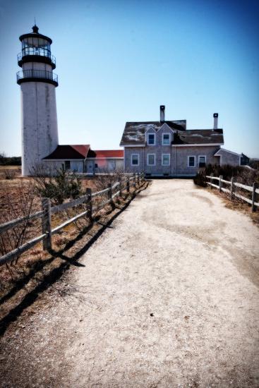 Highland Lighthouse Cape Cod MA Portrait-Jobe Waters-Giclee Print