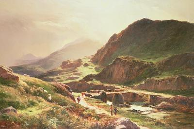 Highland Scene-Sidney Richard Percy-Giclee Print