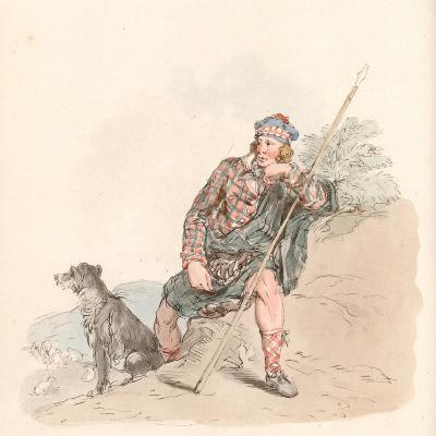 Highland Shepherd--Giclee Print