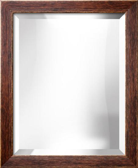 HIGHLAND Walnut Mirror--Wall Mirror