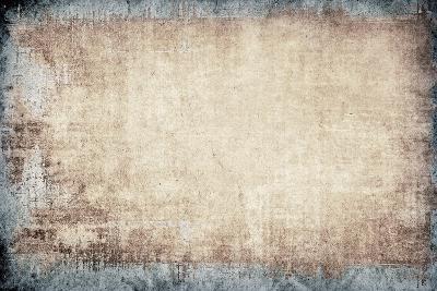 Highly Detailed Textured Grunge Background Frame-ilolab-Art Print