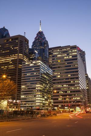 Highrise Office Towers and Hotels in the Downtown Financial District of Philadelphia-Richard Nowitz-Photographic Print