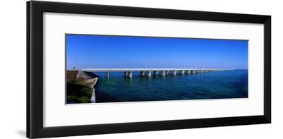 Highway 1 to Key West Florida USA--Framed Photographic Print