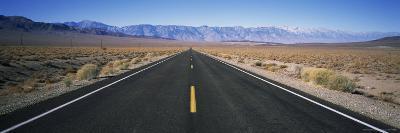 Highway 190, Orancha Darwin Road, Leading Into Owens Valley-Rich Reid-Photographic Print