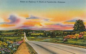 Highway 71, Fayetteville, Arkansas