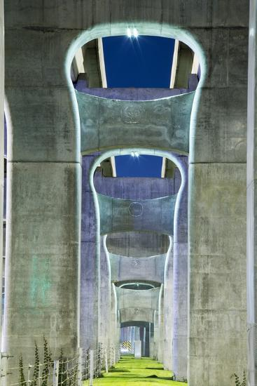 Highway Overpass, Chengdu, Sichuan Province, China-Paul Souders-Photographic Print