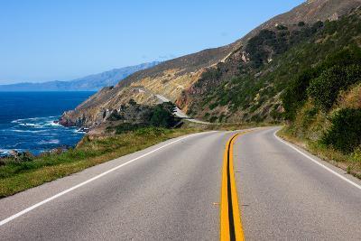 Highway through California Coast-Andy777-Photographic Print