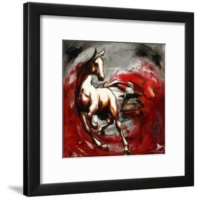 Hijack-Marie-Andrée Leblond-Framed Art Print