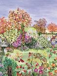 The Garden with Birds and Butterflies-Hilary Jones-Giclee Print