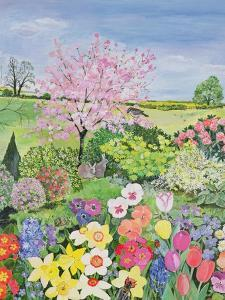 Spring from the Four Seasons (One of a Set of Four) by Hilary Jones