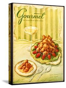 Gourmet Cover - May 1956 by Hilary Knight