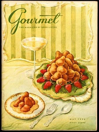 Gourmet Cover - May 1956