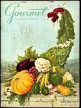 Gourmet Cover - November 1956-Hilary Knight-Premium Giclee Print