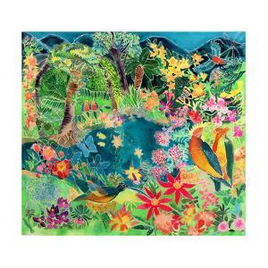 Caribbean Jungle, 1993 by Hilary Simon