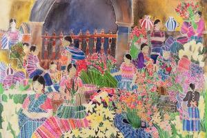 Chichicastango, Market Day by Hilary Simon