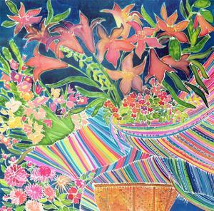 Guatemalan Lilies, Absolutely Fabulous Set, 1994 by Hilary Simon