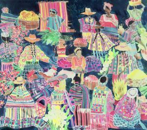 Guatemalan Market by Hilary Simon
