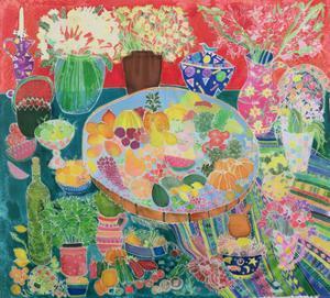 Guatemalan Table, 1995 by Hilary Simon