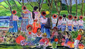 Lake Atitlan, 2005 by Hilary Simon
