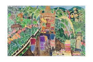 Procession, Peliatan, Bali, 1996 by Hilary Simon