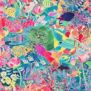Underwater Rainbow, 1993 by Hilary Simon