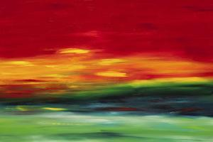 Island Sky 2 by Hilary Winfield