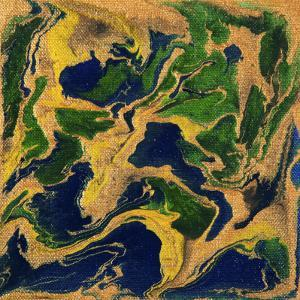 Liquid Industrial IIII - Canvas V by Hilary Winfield