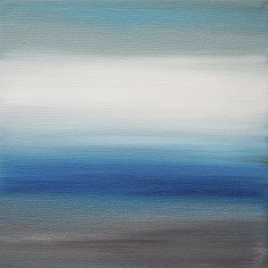 Sunsets - Canvas 2 by Hilary Winfield