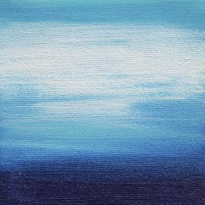 Ten Sunsets - Canvas 2 by Hilary Winfield