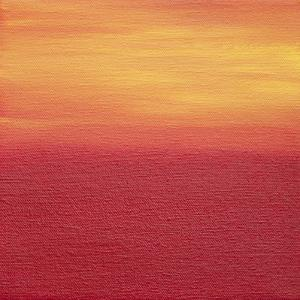 Ten Sunsets - Canvas 7 by Hilary Winfield
