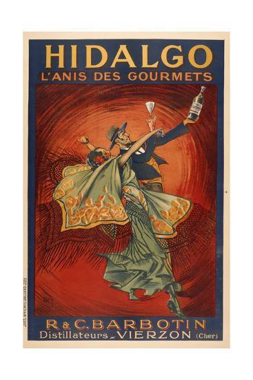 Hildago-Dancers-Marcus Jules-Giclee Print