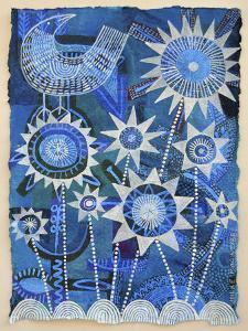 Bird with Starflowers by Hilke Macintyre