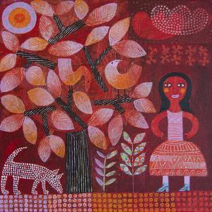 Red Tree by Hilke Macintyre