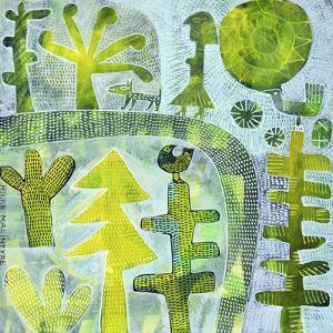 Walking the Dog - Green by Hilke Macintyre