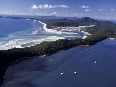 Hill Inlet in Low Tide, White Sand Beaches, Queensland, The Whitsundys, Australia-Cindy Miller Hopkins-Photographic Print