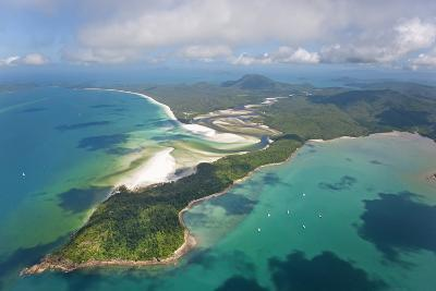 Hill Inlet Whitsunday Islands, Queensland, Australia-Peter Adams-Photographic Print