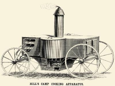 Hill's Camp Cooking Apparatus--Art Print