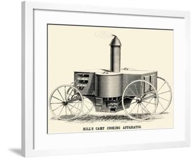 Hill's Camp Cooking Apparatus--Framed Art Print